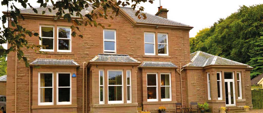 Lorimer Sliding Sash Windows, Forfar